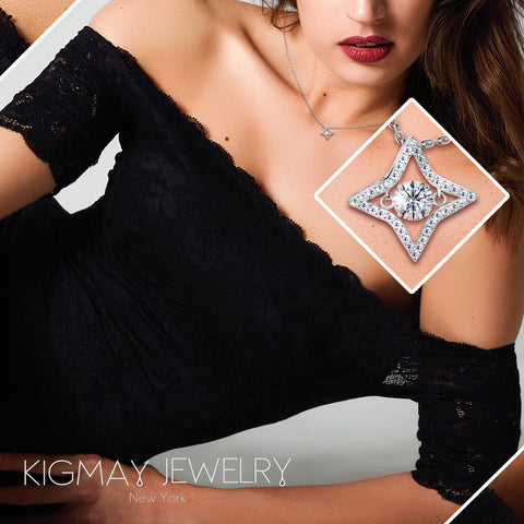 Four Point Star Pendant Necklace - Kigmay Jewelry - New York