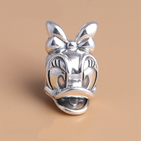 Daisy Duck Charm Beads - Kigmay Jewelry - New York