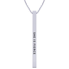 She Is Fierce Necklace - Kigmay Jewelry - New York