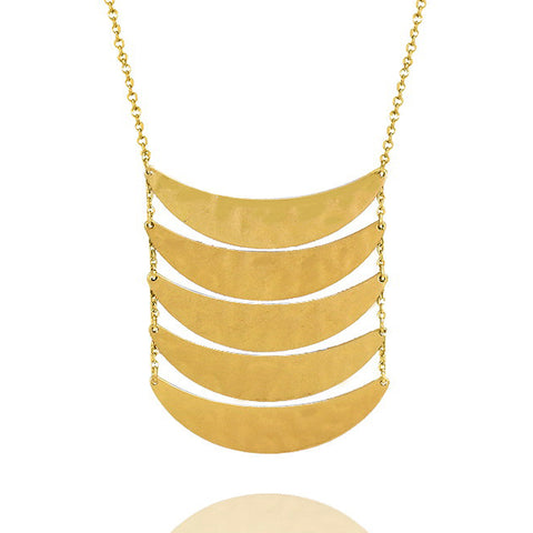 Long Bar Statement Necklace - Kigmay Jewelry - New York