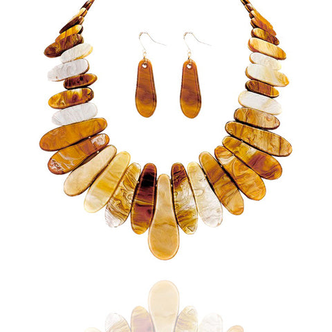 Gradient Collar Statement Necklace - Kigmay Jewelry - New York