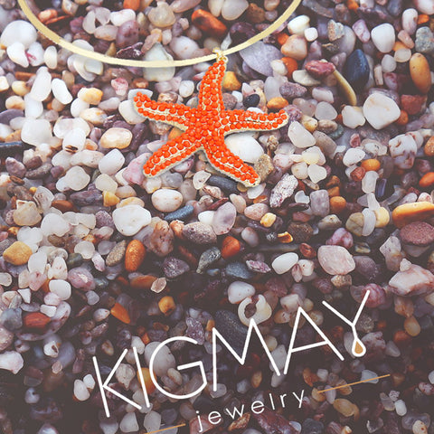 Starfish Choker Necklace - Kigmay Jewelry - New York