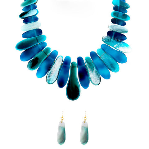 Bar Collar Statement Necklace - Kigmay Jewelry - New York