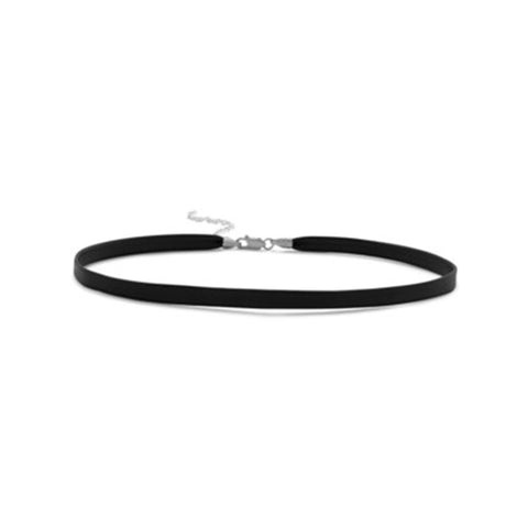 Simple Black Choker Necklace - Kigmay Jewelry - New York