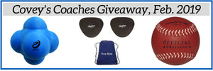 Covey's Coaches Giveaway, February 2019