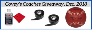 Covey's Coaches Giveaway, December 2018