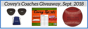 Covey's Coaches Giveway, September 2018
