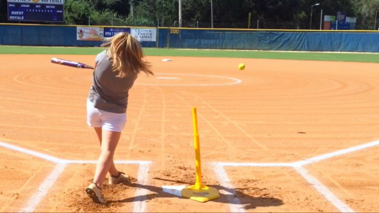 fastpitch softball batting tee drills