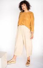 Big Circle Handmade Raw Silk Pants