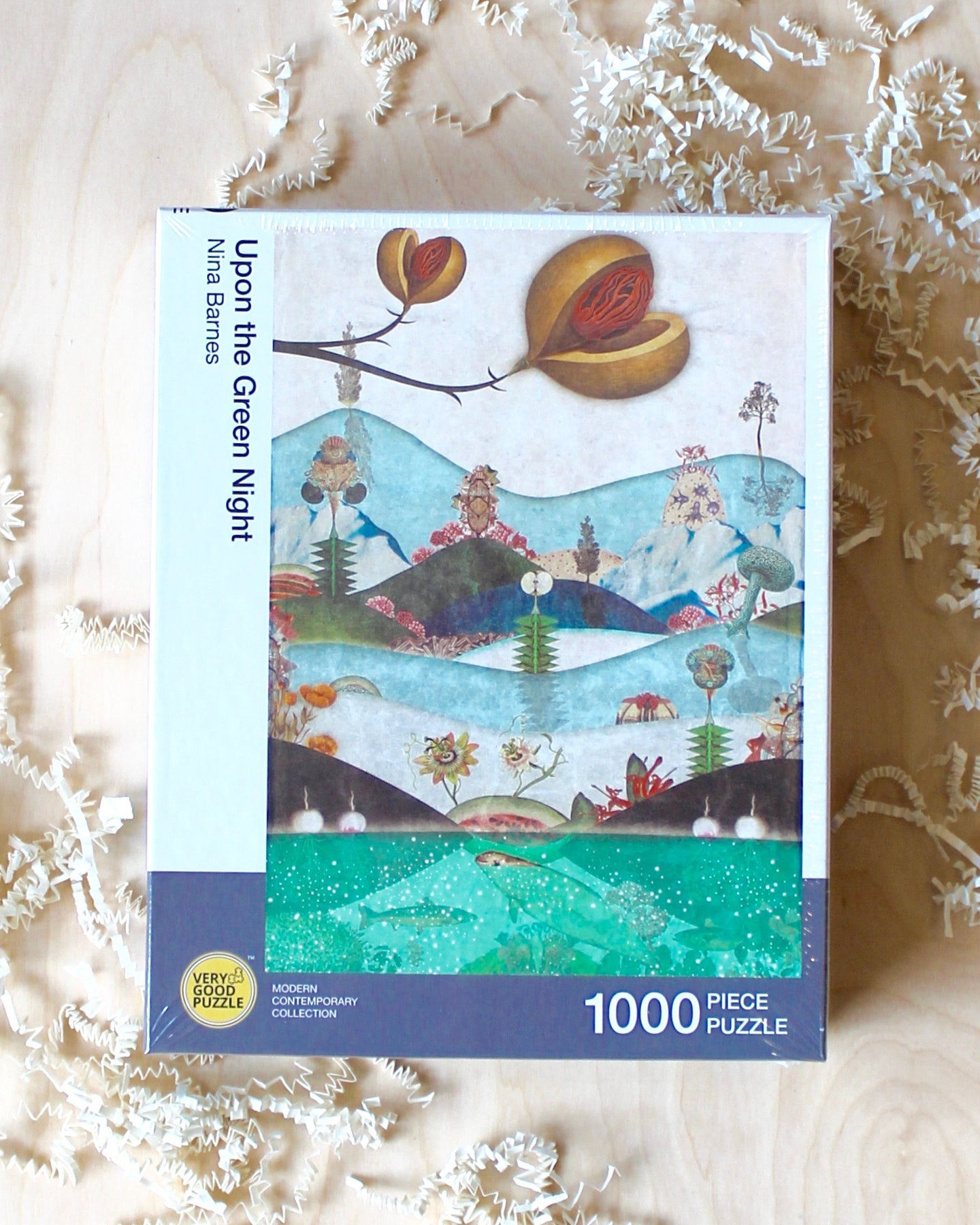 Nina Barnes - Upon the Green Night 1000 Piece Puzzle