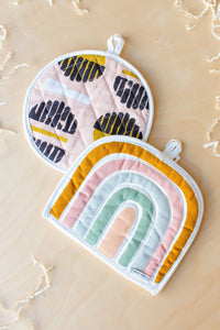 Cotton Quilted Potholders