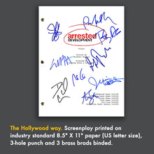 Arrested Development Tv Signed Autographed Script Screenplay - Jason Bateman - Portia De Rossi