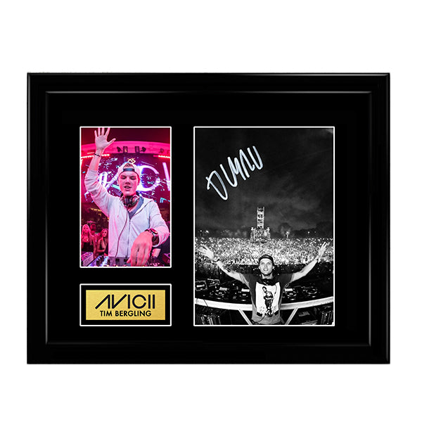 Avicii Tim Bergling - Swedish EDM DJ Autographed Signed Photo Memorabilia