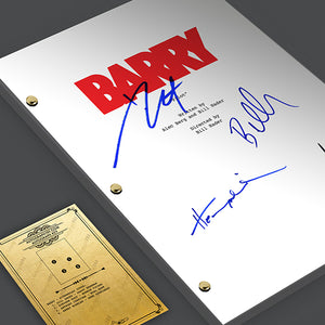 Barry Tv Signed Autographed Script Screenplay