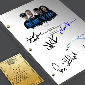 Blue Bloods Signed TV Screenplay