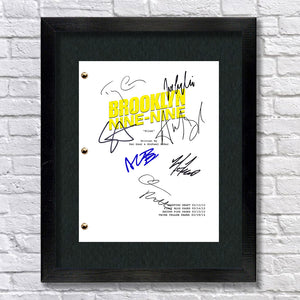 Brooklyn Nine-Nine 99 TV - Script Signed Autograph RPT - Jake Peralta - Andy Samberg - Terry Crews - Melissa Fumero