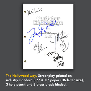 Curb Your Enthusiasm TV Signed Autographed Script Screenplay - Larry David - Jeff Garlin