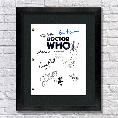 Doctor Who - TV Signed Autograph Script Screenplay Reprint - David Tennant, Billie Piper, Freema Agyeman, Tardis, Daleks