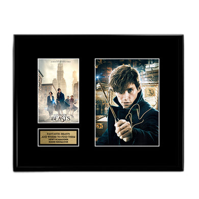 Eddie Redmayne - Newt Scamander - Fantastic Beasts and Where to Find Them Autograph Signed