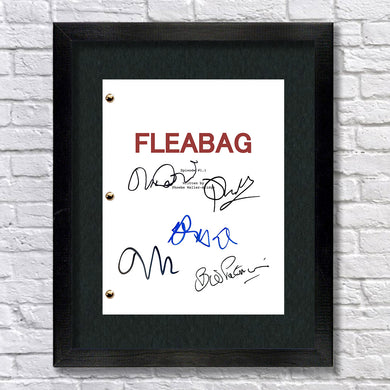 Fleabag TV Signed Autograph Screenplay - Phoebe Waller-Bridge - Andrew Scott - Olivia Colman
