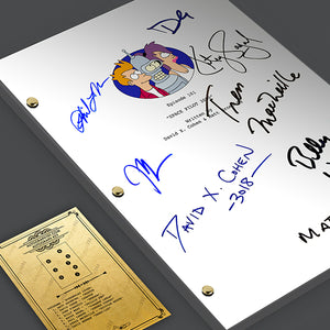 Futurama TV Screenplay