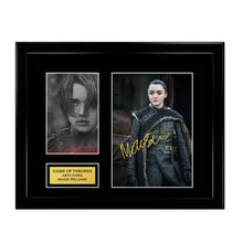 Game of Thrones - Arya Stark - Maisie Williams Autograph - House Stark Season 8