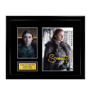 Game of Thrones - Sansa Stark - Sophie Turner Signed Autograph
