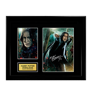Alan Rickman Severus Snape - Harry Potter Signed