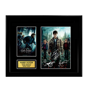 Harry Potter Cast Signed Autographed