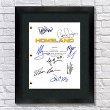 Homeland TV Pilot Signed Autographed Script Screenplay - Claire Danes - Mandy Patinkin - Damian Lewis