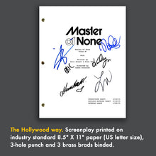 Master of None Pilot Screenplay - Aziz Ansari, Eric Wareheim, Noel Wells, Lena Waithe, Kelvin Yu, Alessandra Mastronardi