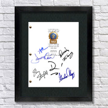 NYPD Blue Tv Signed Autographed Script Screenplay - Dennis Franz - David Caruso - James McDaniel