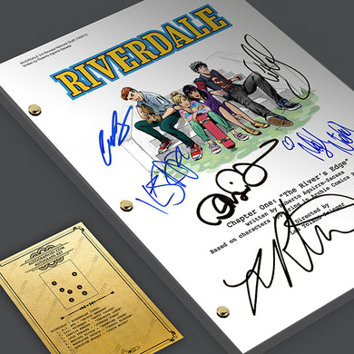 Riverdale - Signed Autographed TV Pilot Screenplay