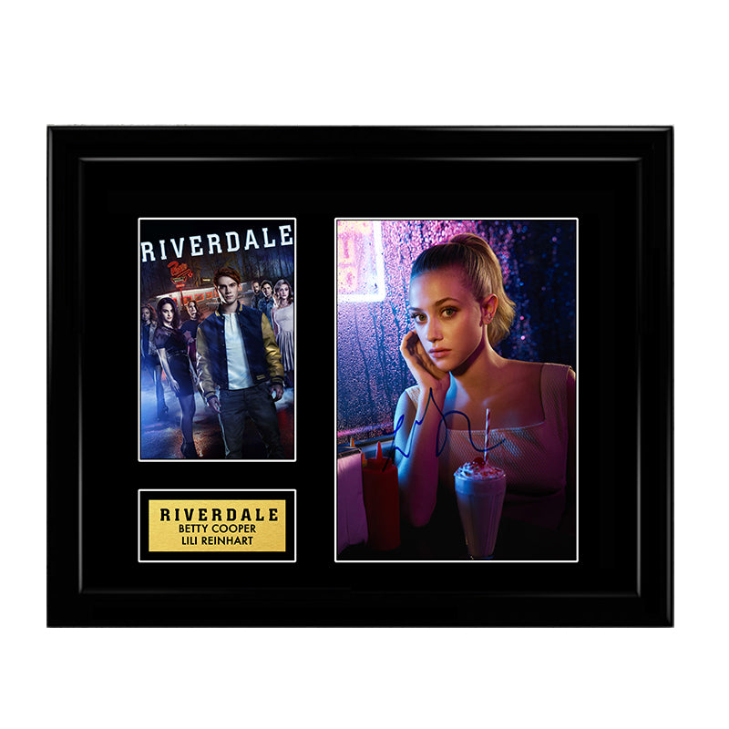 Betty Cooper Lili Reinhart Riverdale Signed Autograph Print