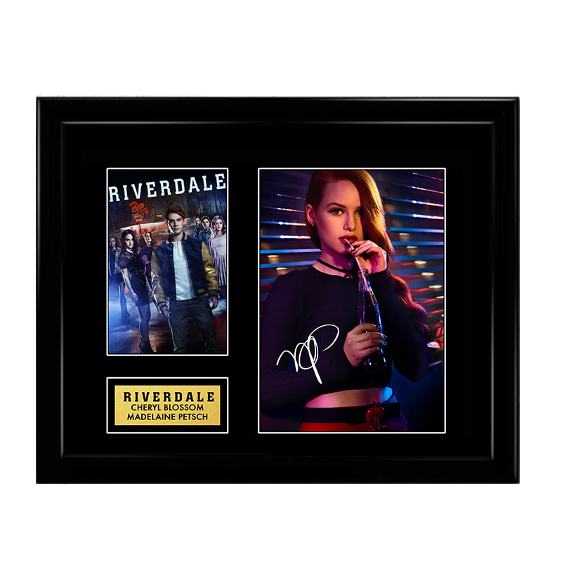 Madelaine Petsch Cheryl Blossom Riverdale Signed Autograph Print