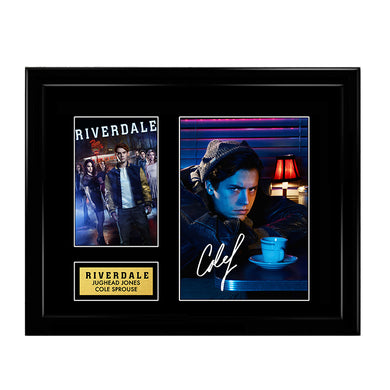 Cole Sprouse Jughead Jones Riverdale Signed Autograph Print