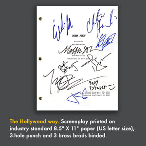Mad Men TV Signed Autographed Script Screenplay - Jon Hamm - January Hones - Christina Hendricks - Elizabeth Moss