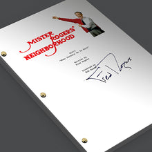 Mister Rogers Neighborhood Episode 1613 Signed TV Screenplay