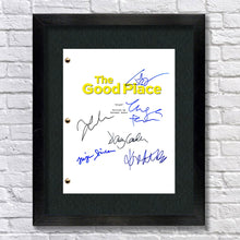 The Good Place Signed Script Screenplay Autograph RP - Kristen Bell - Jameela Jamil - Ted Danson r