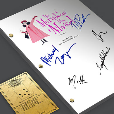 The Marvelous Mrs Maisel TV Screenplay
