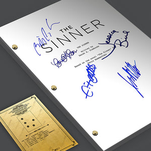The Sinner Pilot Signed TV Screenplay