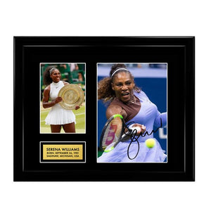 Serena Williams Autographed Signed Photo Memorabilia