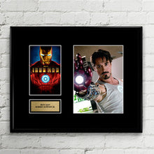 The Avengers Iron Man - Robert Downey Jr - Autograph Signed Poster Art Print Artwork - Ironman Marvel