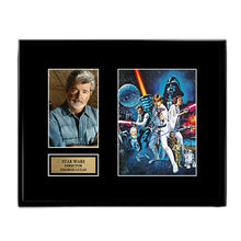 George Lucas - Director - Star Wars - Autograph Signed Poster Art Print Artwork - Last Jedi