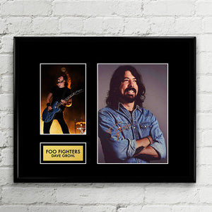 Dave Grohl Foo Fighters - Autograph - Signed Poster Art Print Artwork - Grammy Billboard
