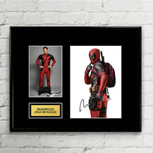 Deadpool - Ryan Reynolds - Autograph Signed Poster Art Print Artwork - Marvel Comics