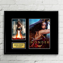 Woman Woman - Gal Gadot Autograph Signed Poster Art Print Artwork - Justice League DC Comics