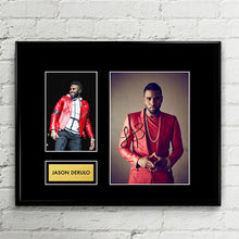 Jason Derulo Autograph - Signed Poster Art Print Artwork - Grammy Billboard Artiste - Swalla Nicki Minaj