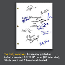 Gilmore Girls TV Signed Autograph Pilot Screenplay - Lauren Graham - Alexis Bledel - Melissa McCarthy - Keiko Agena - Scott Paterson