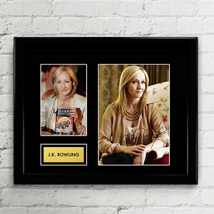 J.K. Rowling - Author Signed Poster Art Print Artwork Reprint - Hogswarts Harry Potter Cursed Child by JK Rowling